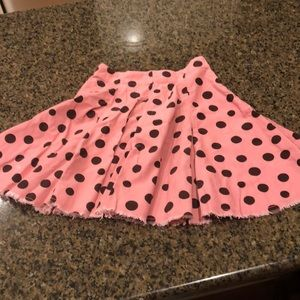 Mini Boden Girls Corduroy Skirt - Size 3-4Y